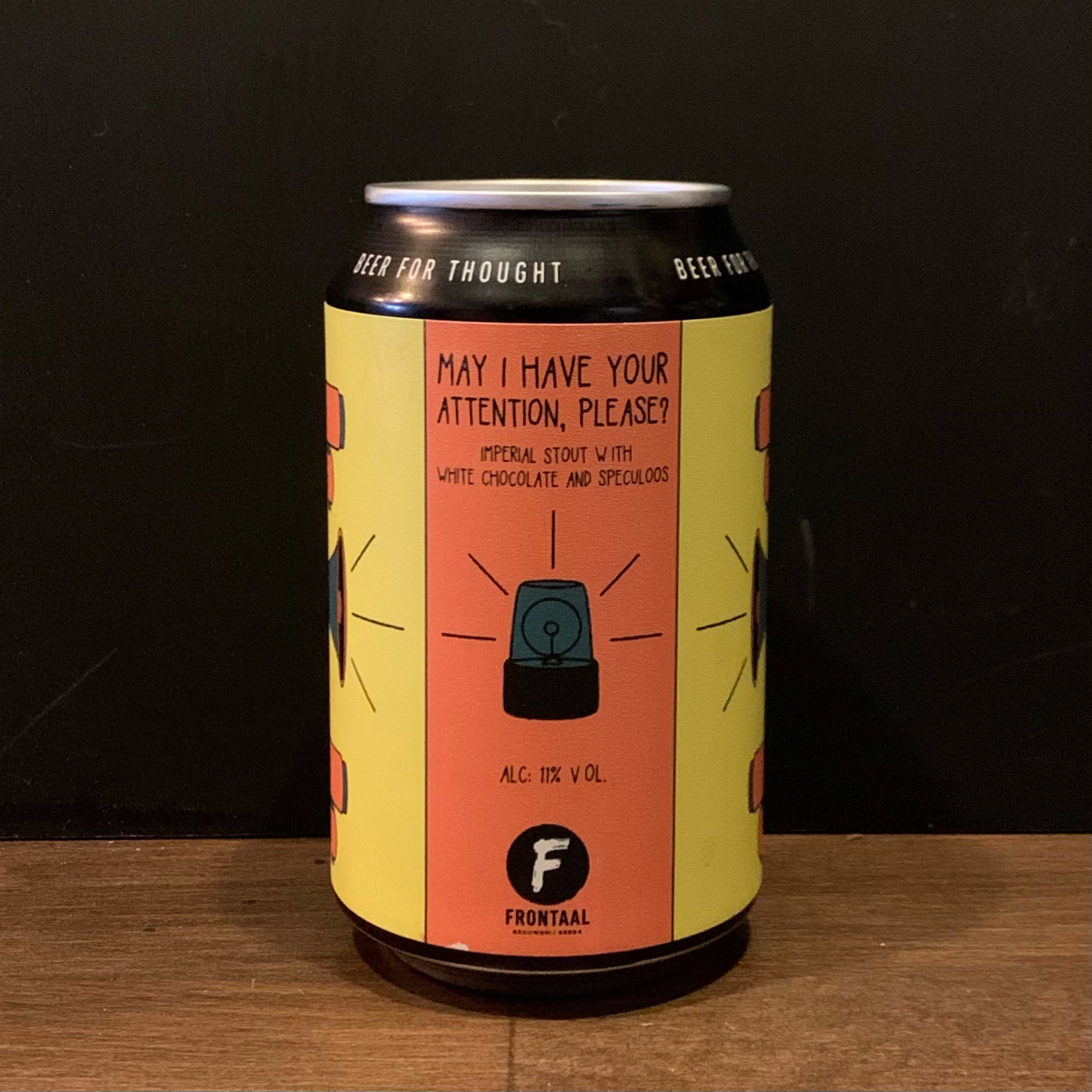 Frontaal - May I Have Your Attention, Please? - Imperial Stout 11%