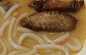 雞翼湯烏冬 Chicken Wings Soup Udon