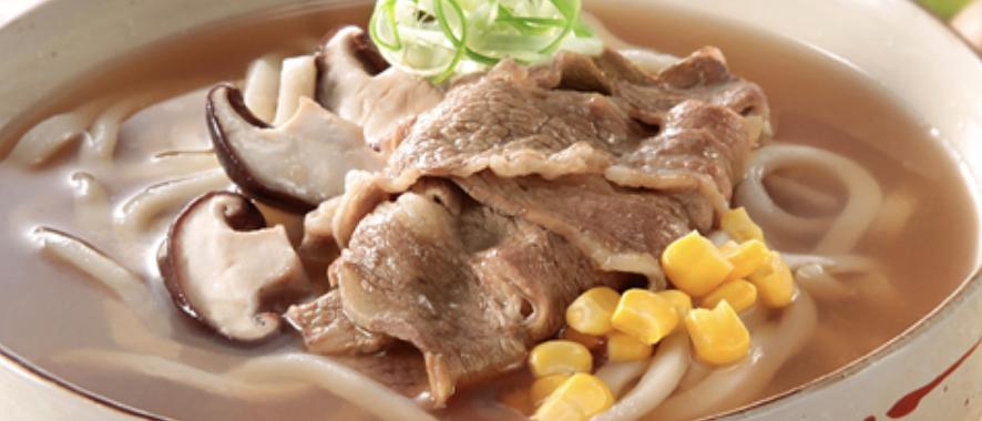 牛肉湯烏冬 Beef Soup Udon