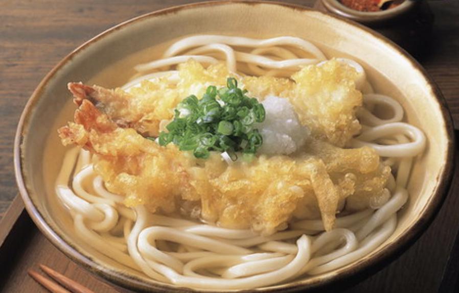 天婦羅蝦湯烏冬 Tempura Prawn Soup Udon