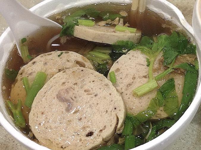 扎肉湯麵 Vietnamese Sausage Soup Noodle