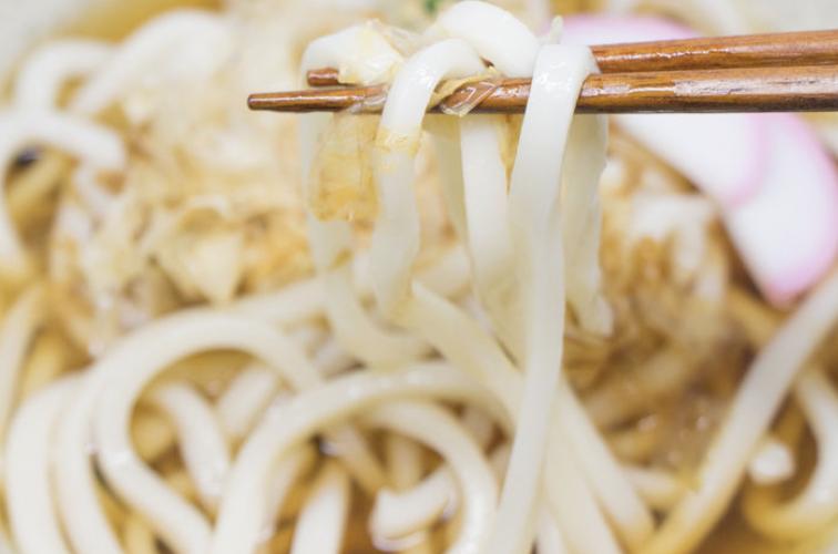 扎肉湯烏冬 Vietnamese Sausage Soup Udon