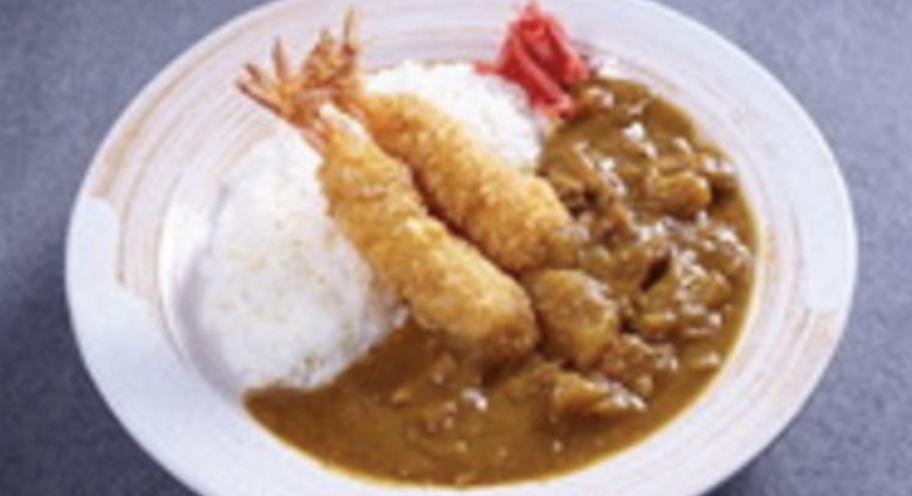 咖哩天婦羅蝦飯 Tempura Prawn Curry Rice