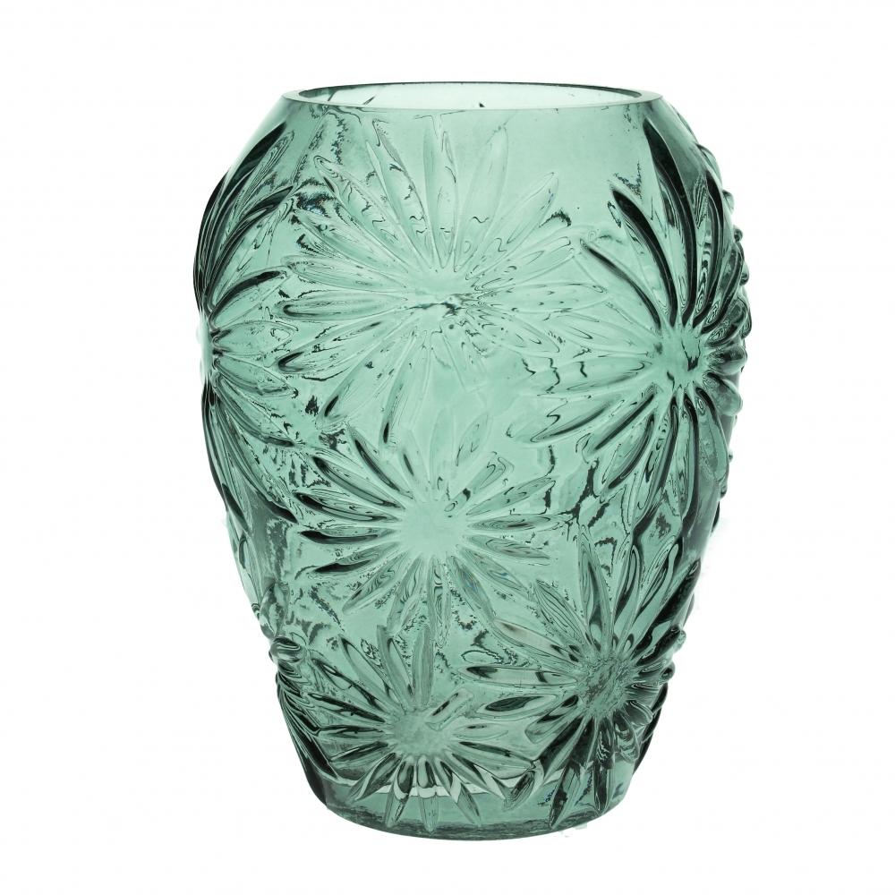 Glasvase Marguerit, grøn