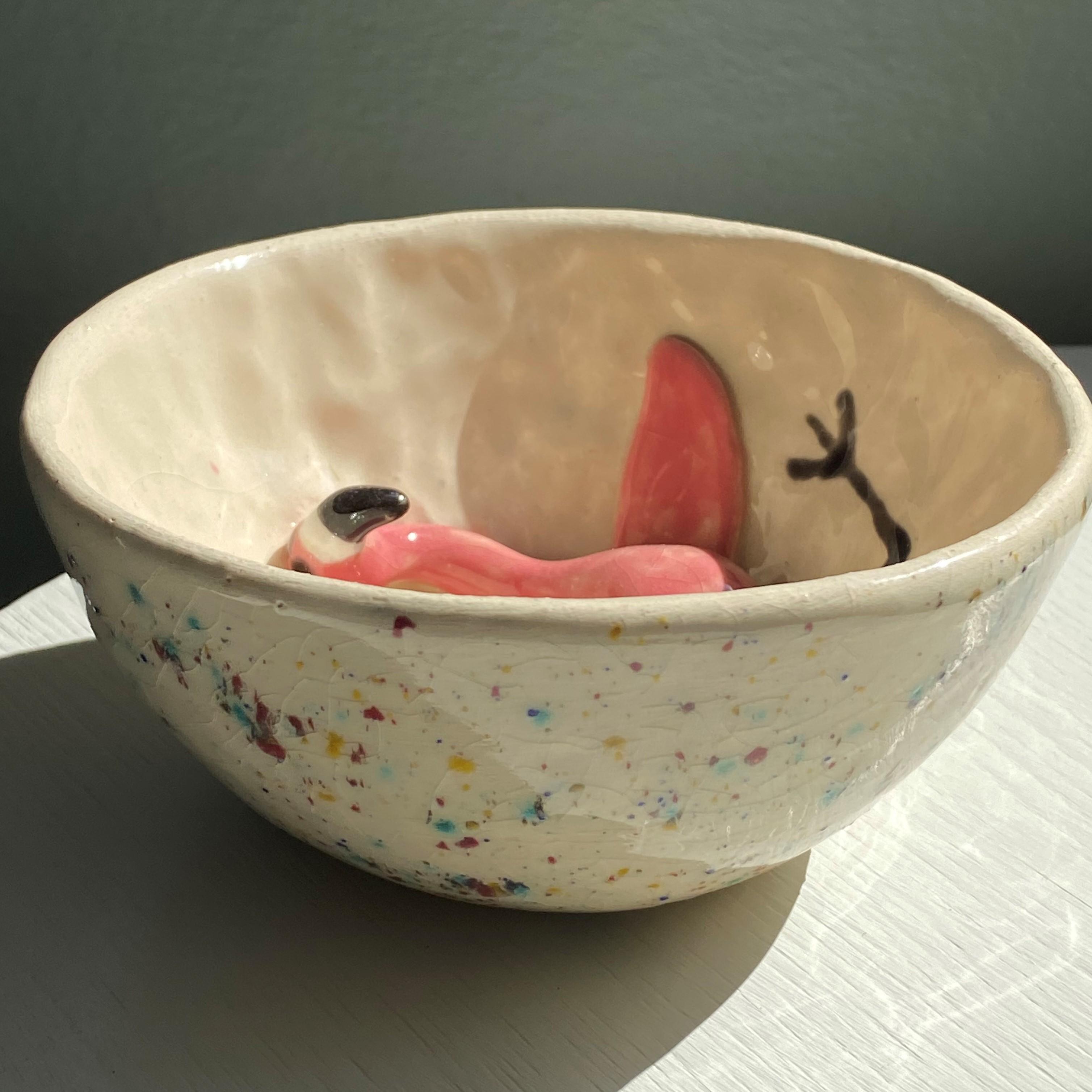 Unika skål, Flamingo 4