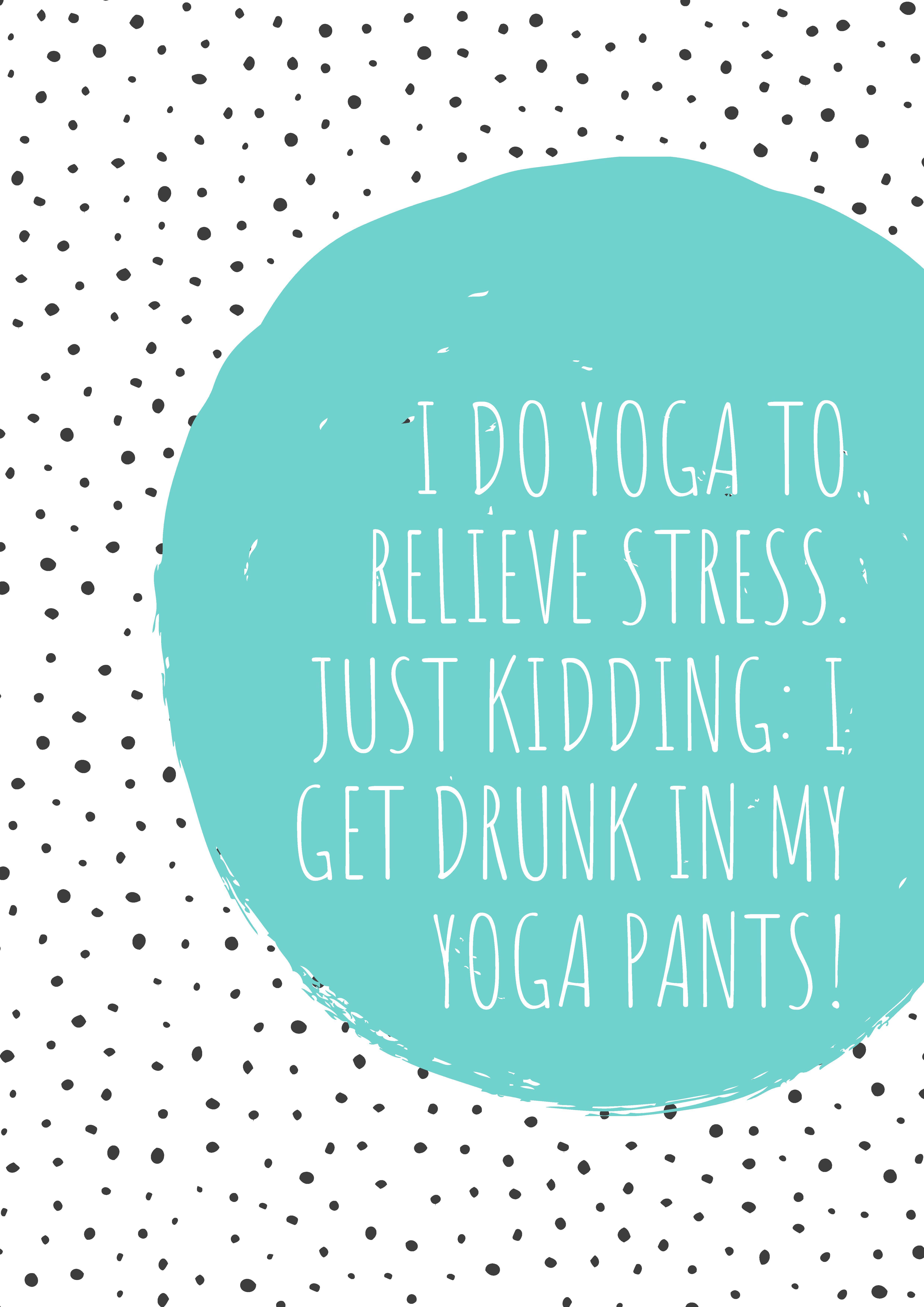 Citatplakat, yoga