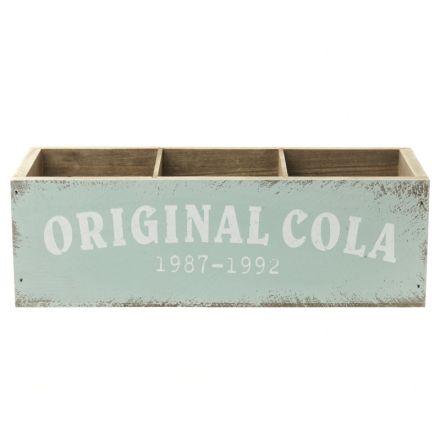 Cola kasse i træ