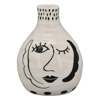 Vase XOXO keramik m/prikker