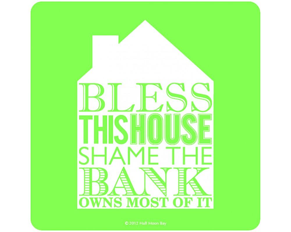Coaster med citat House