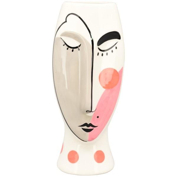 Vase, MusH 9x9x22 cm