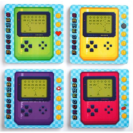 4-pak coasters Gamer