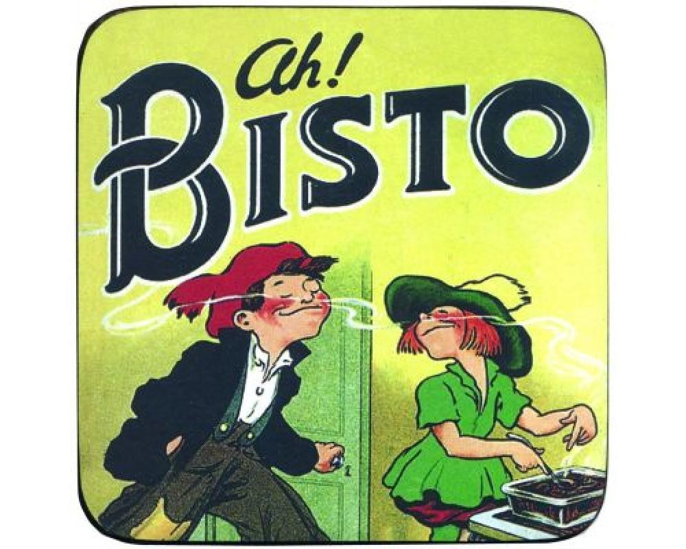 Coaster med citat Bistro