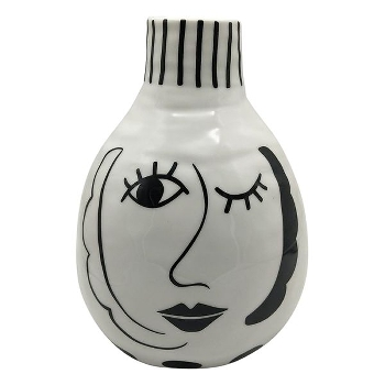 Vase XOXO keramik m/striber
