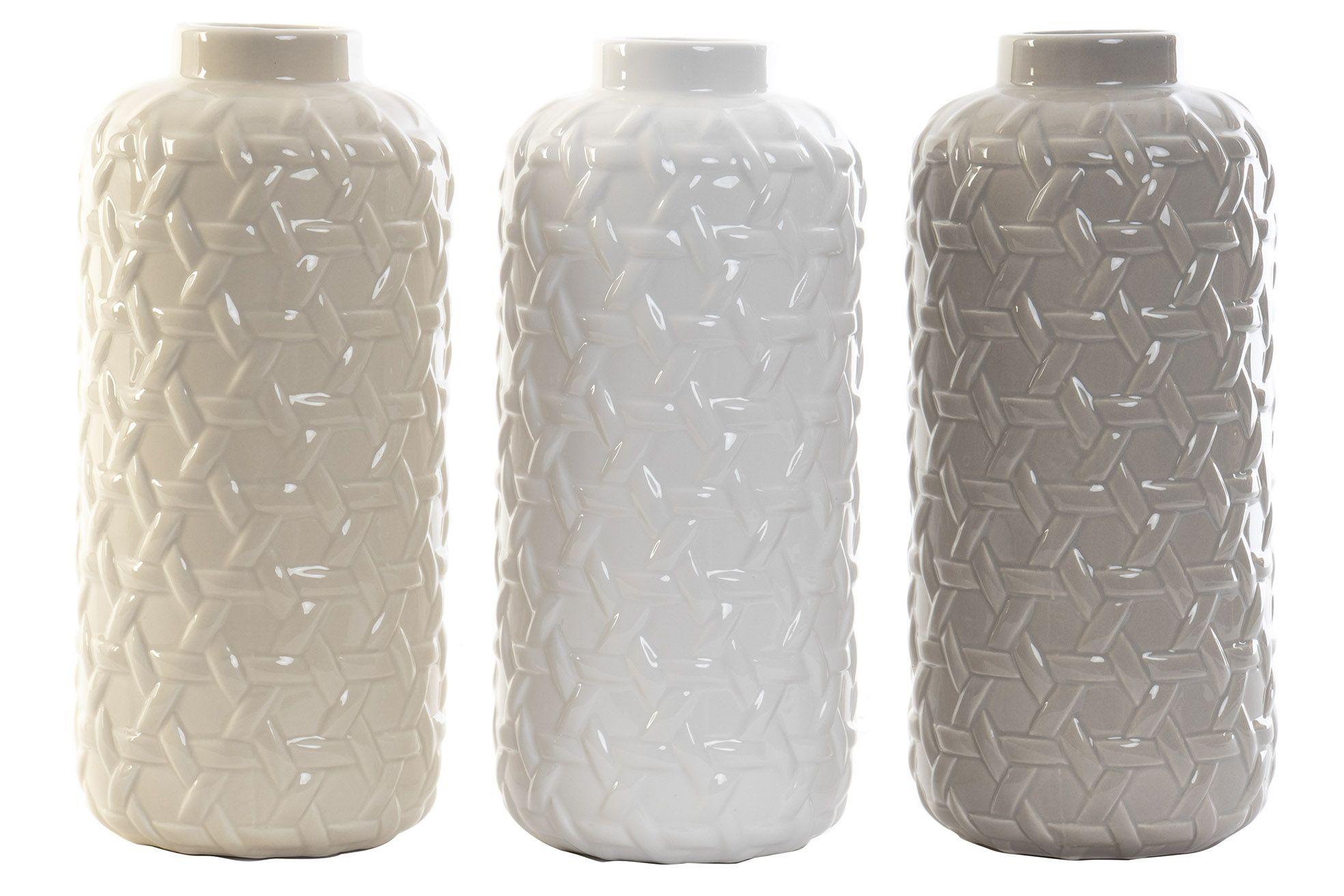 Vase i keramik 11x25 cm