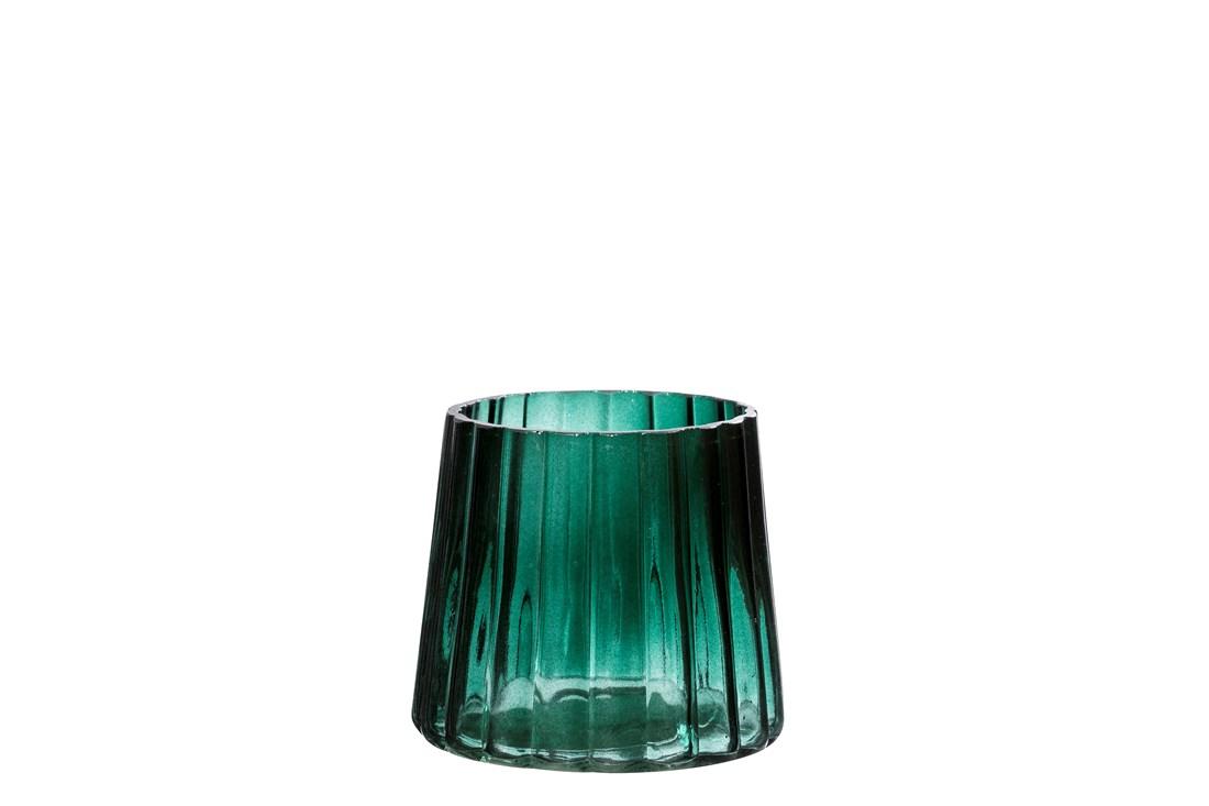 Oakland grøn minivase, 11x9 cm