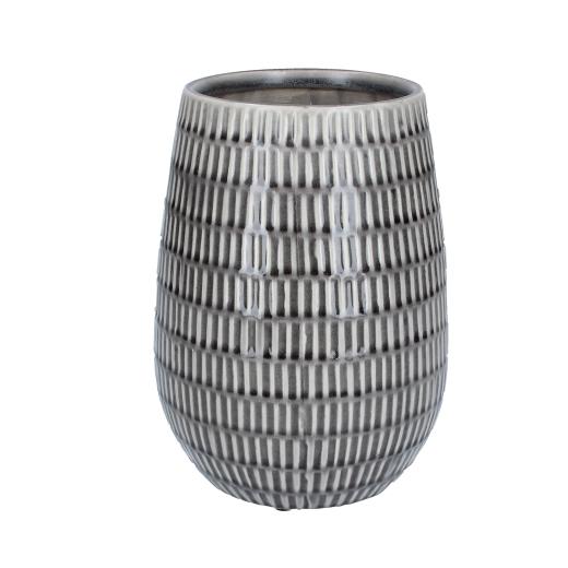 Keramikvase grå