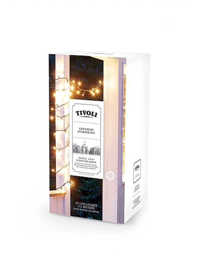 Tivoli Lights lyskæde udendørs 4,5 mtr