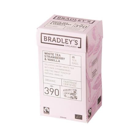 Bradleys te, hvid te med kamilleblomst