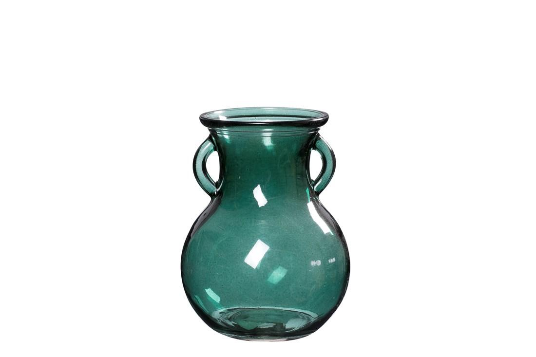 Milby grøn minivase, 11,5x15 cm