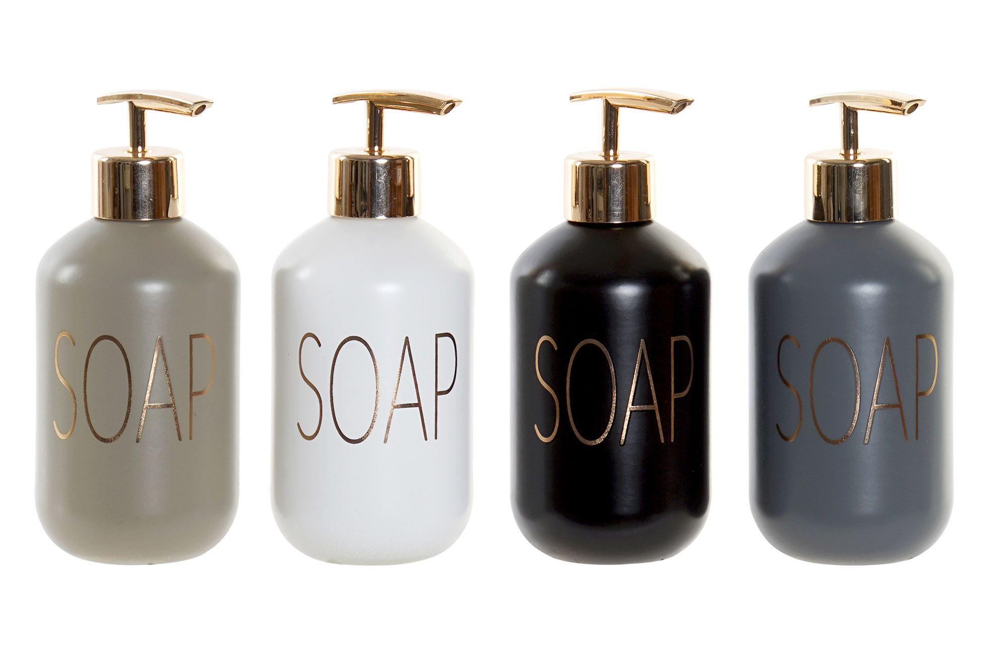 """Sæbedispenser i glas """"SOAP"""""""