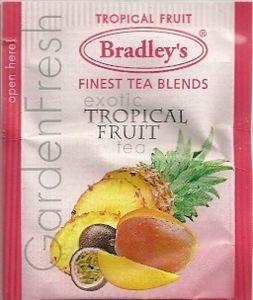 Bradleys te, tropisk frugt