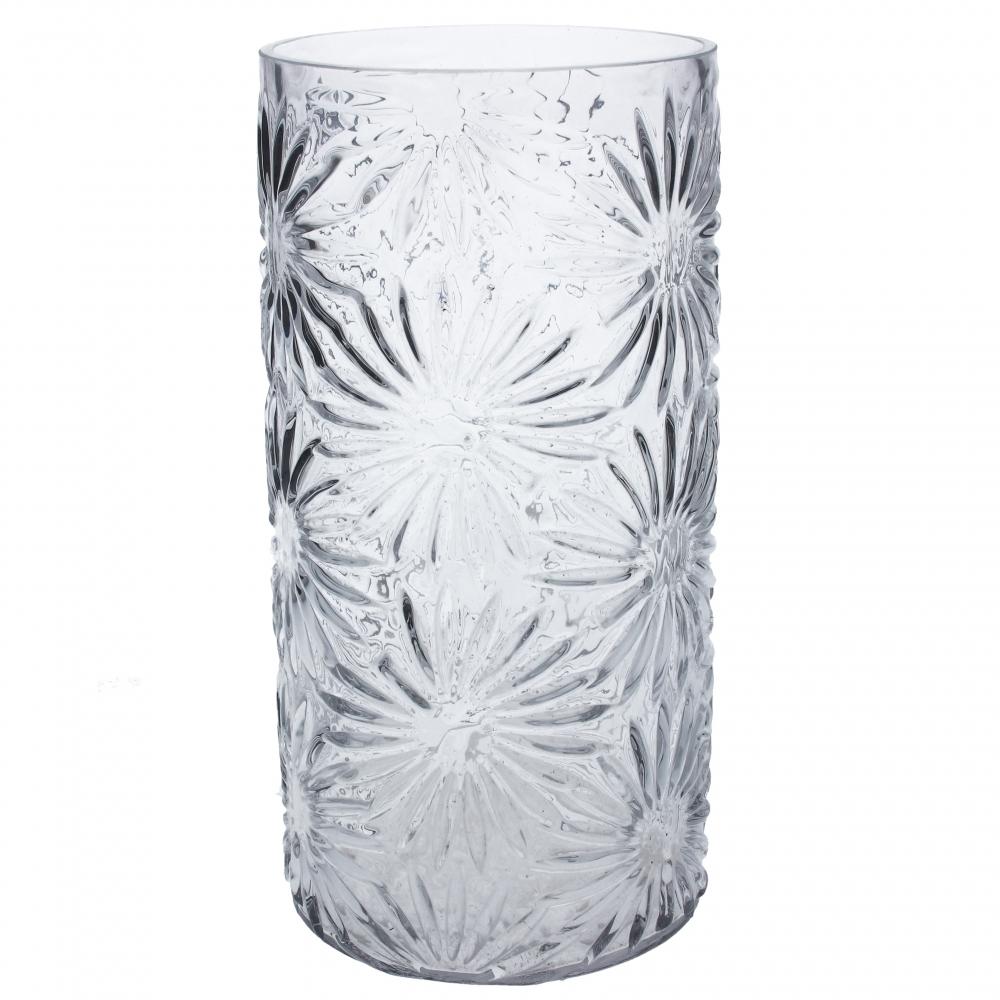 Cylinderglasvase Marguerit, klar