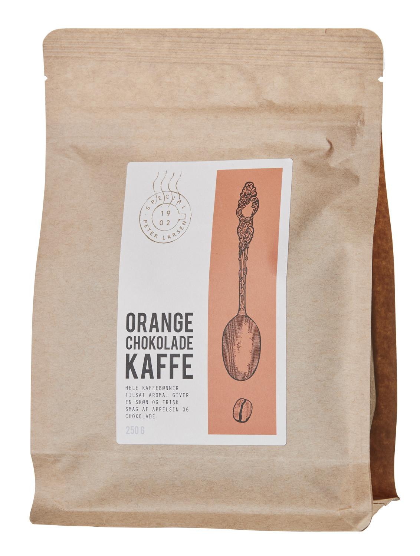 Aromakaffe, orangechokolade
