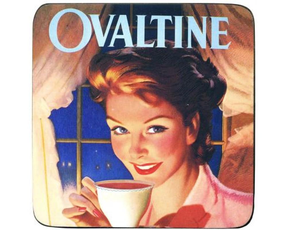 Coaster med citat Ovaltine