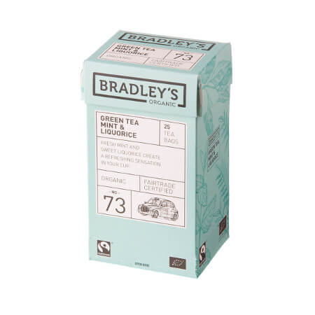 Bradleys te, mint/lakrids