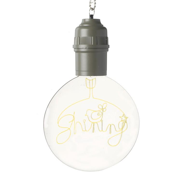 Lampe ophæng med LED-lys
