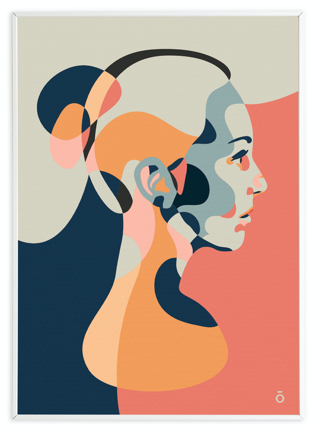 Plakat Anne A3 Ida Holm/Taisho
