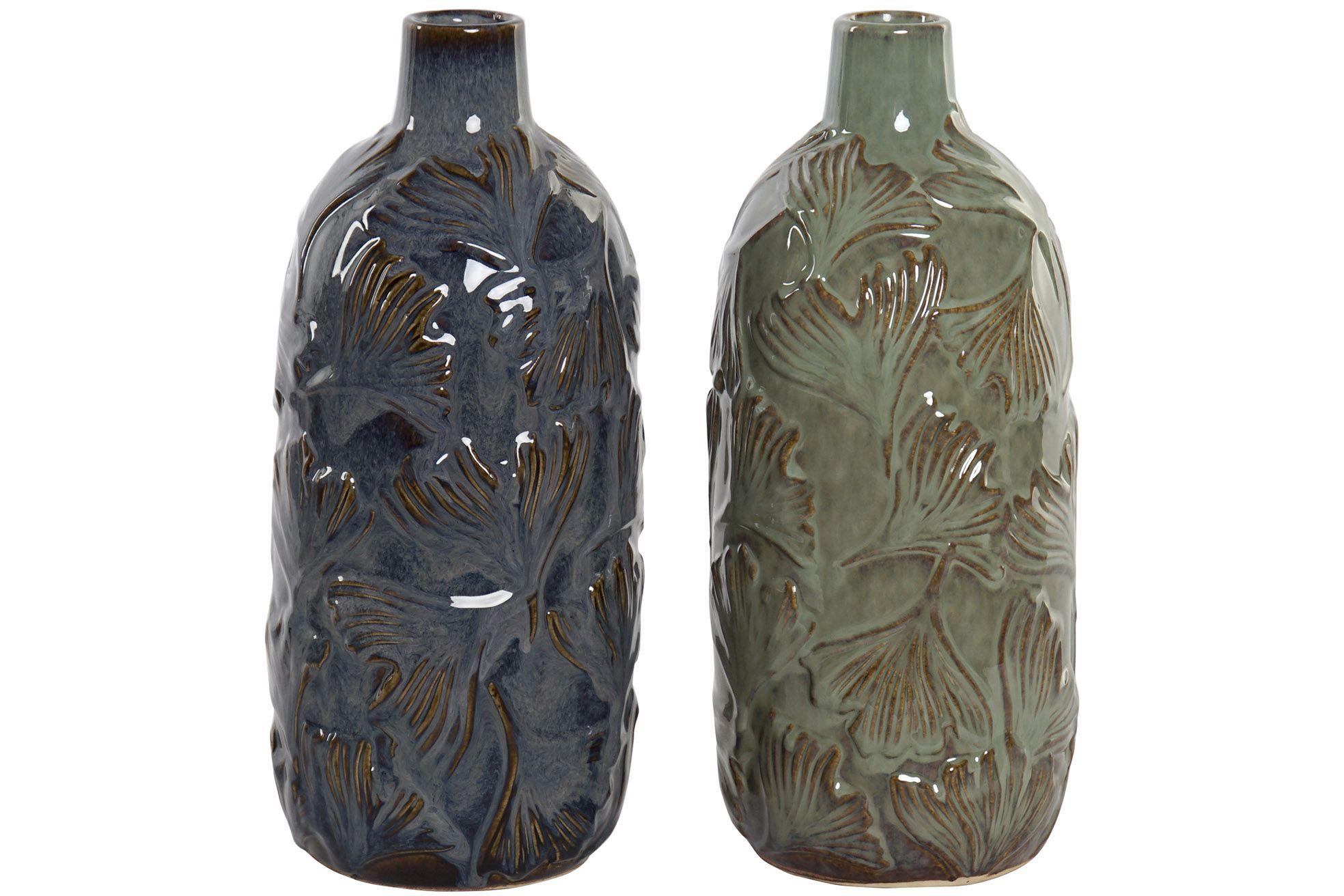 Vase i keramik 15x33 cm
