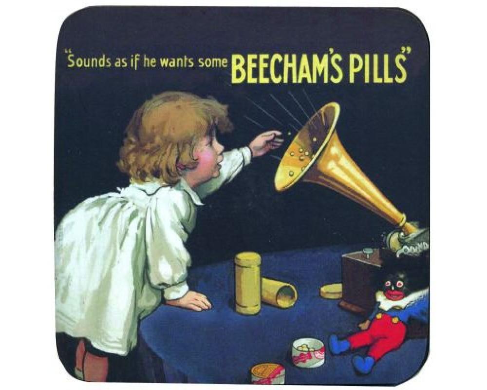 Coaster med citat Beecham