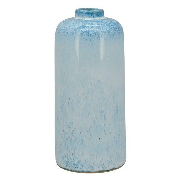 Vase i keramik, lyseblå