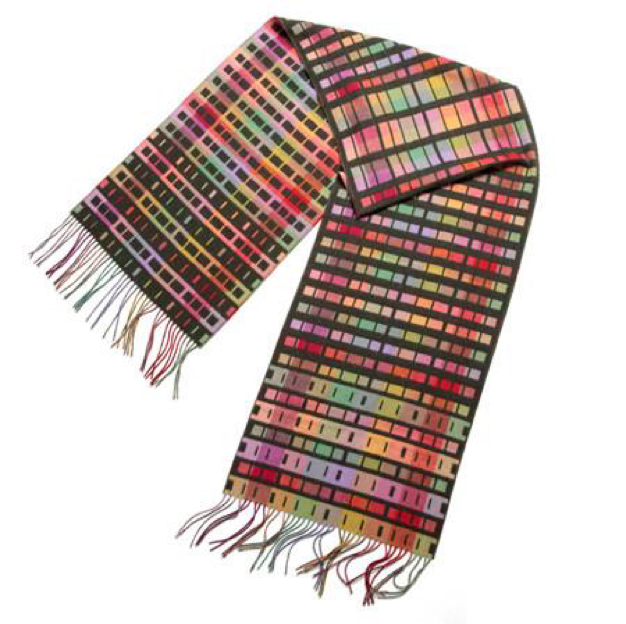 Morse code pattern HOLD Wrap by Holly Berry