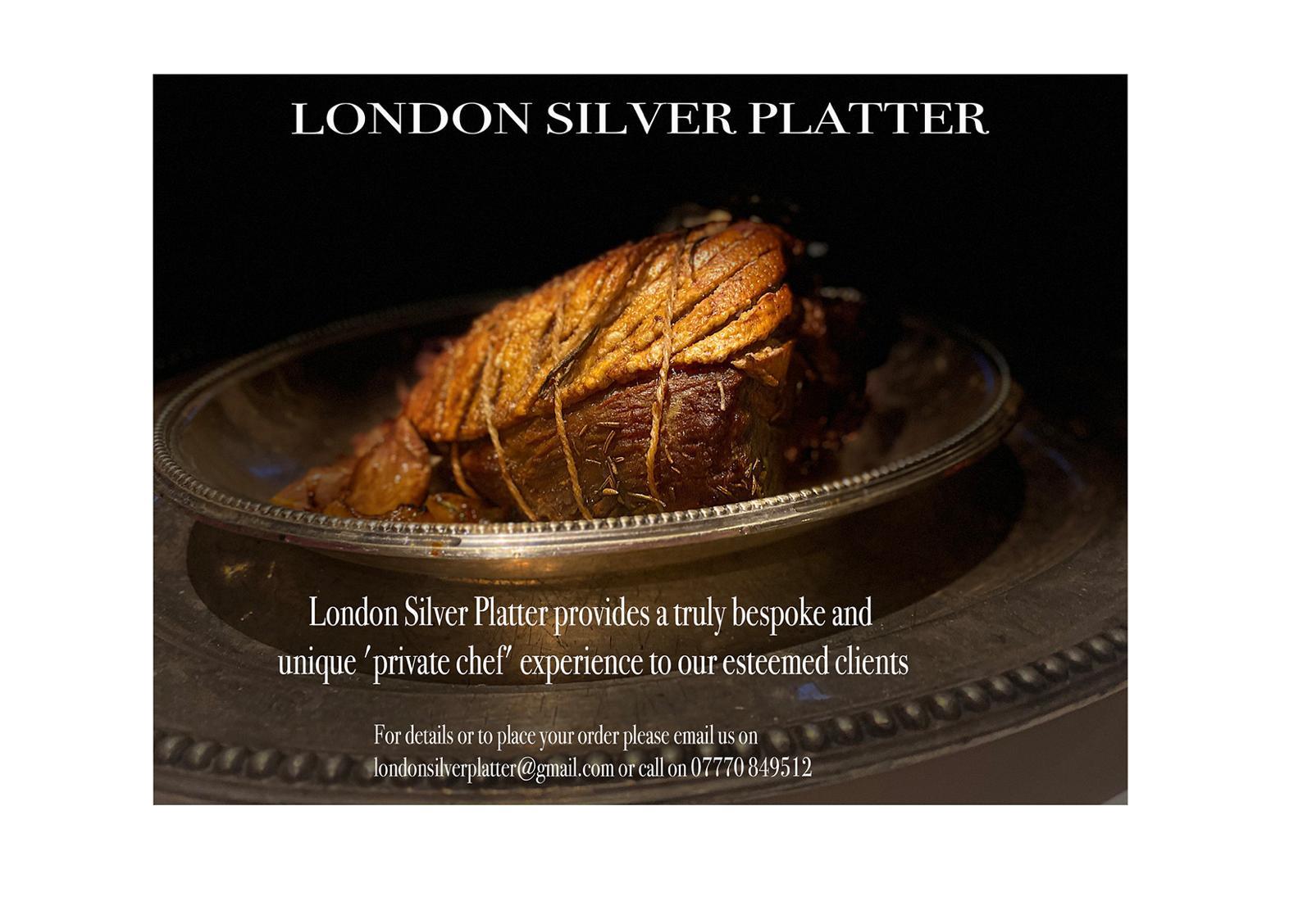 London Silver Platter