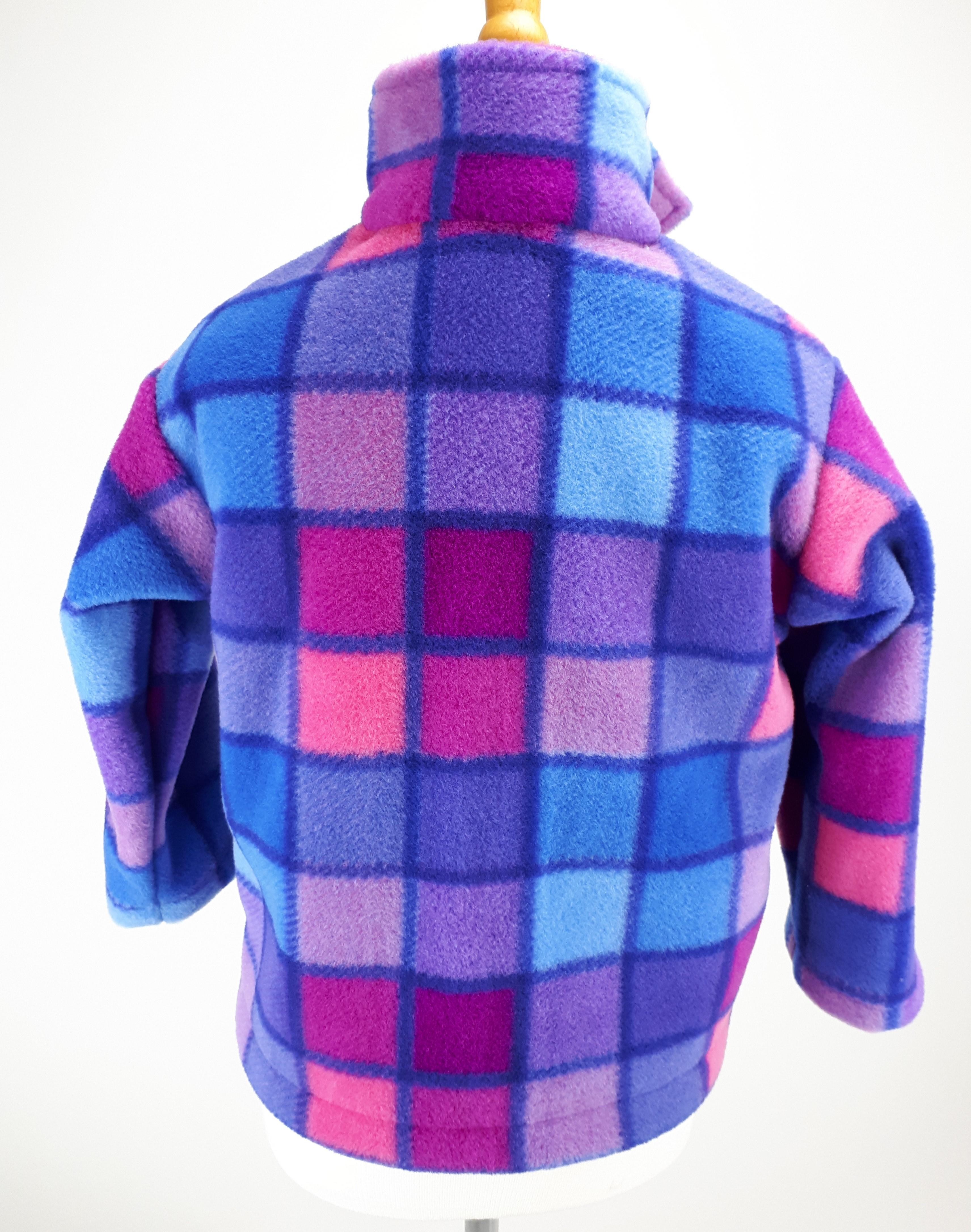 Pink Squares Jacket