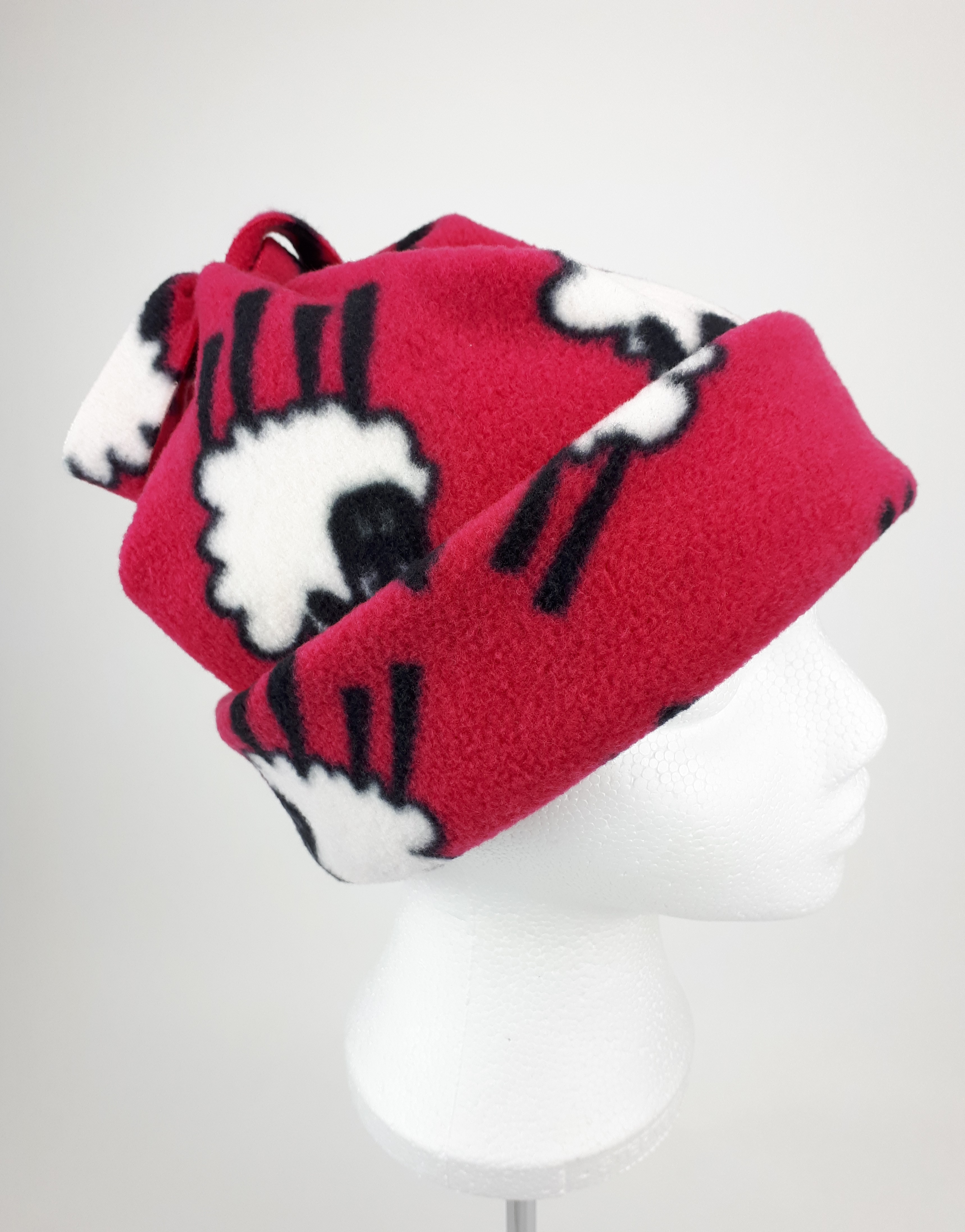 Cerise Sheep Hat