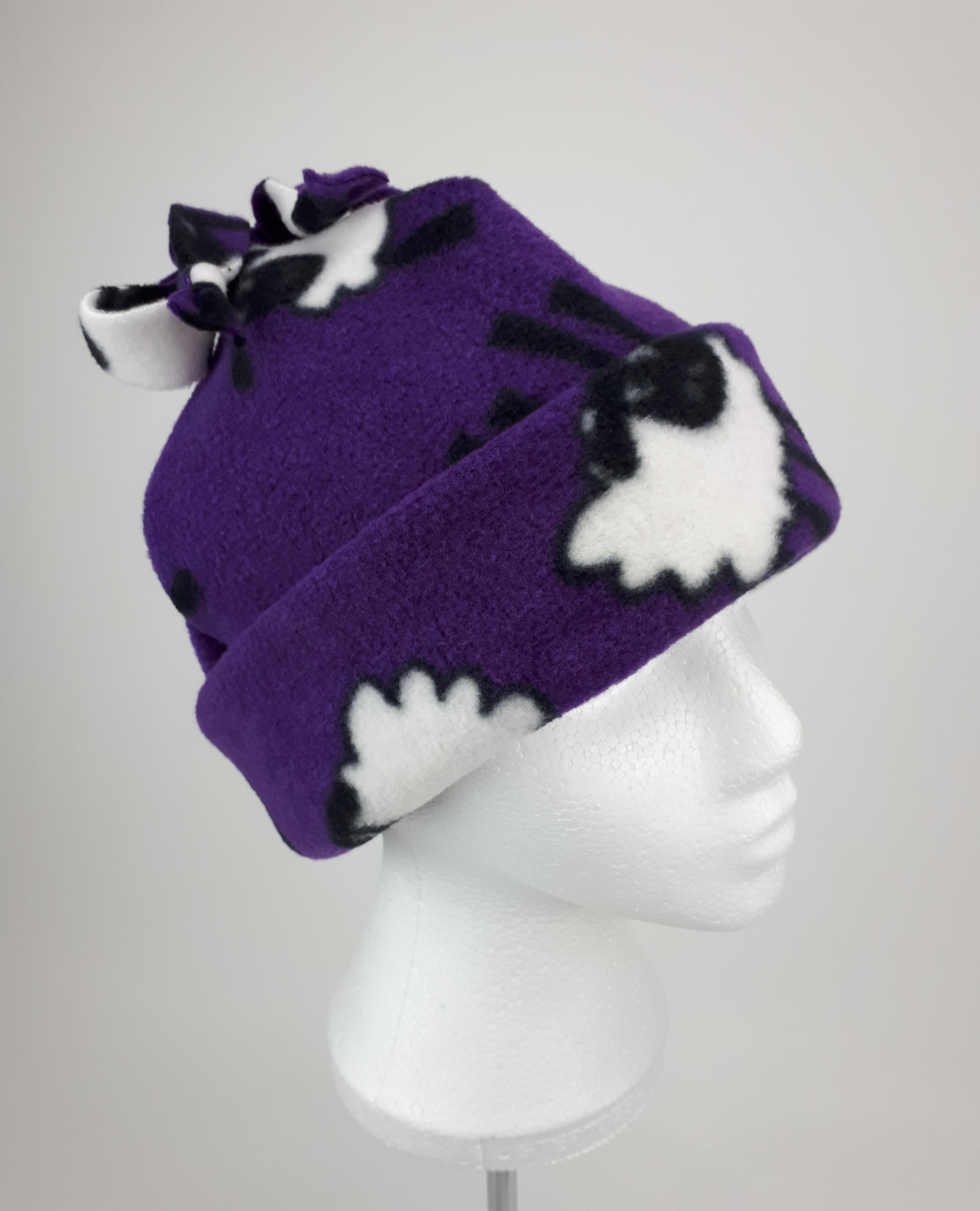 Purple Sheep Hat