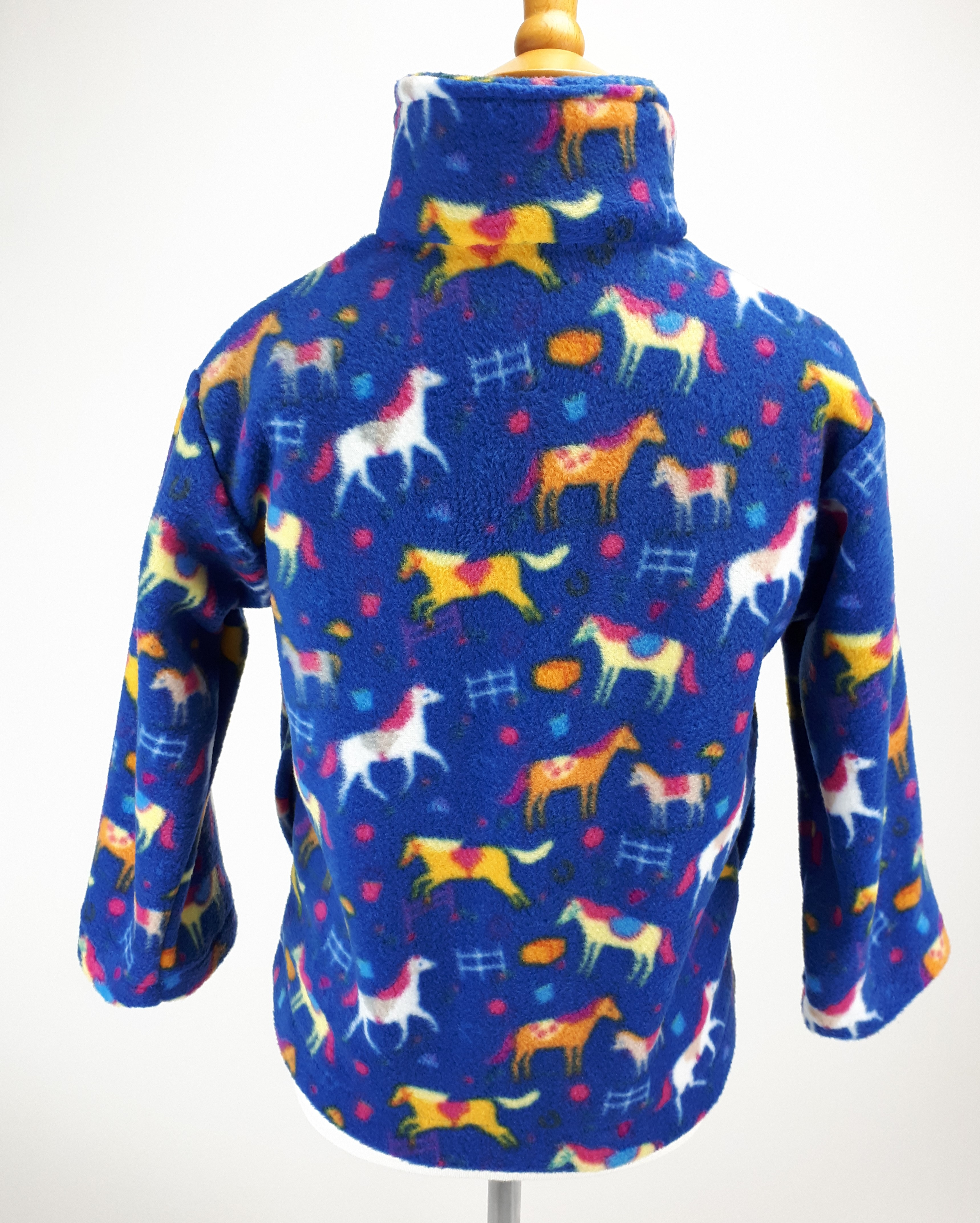 Blue Horses Jacket