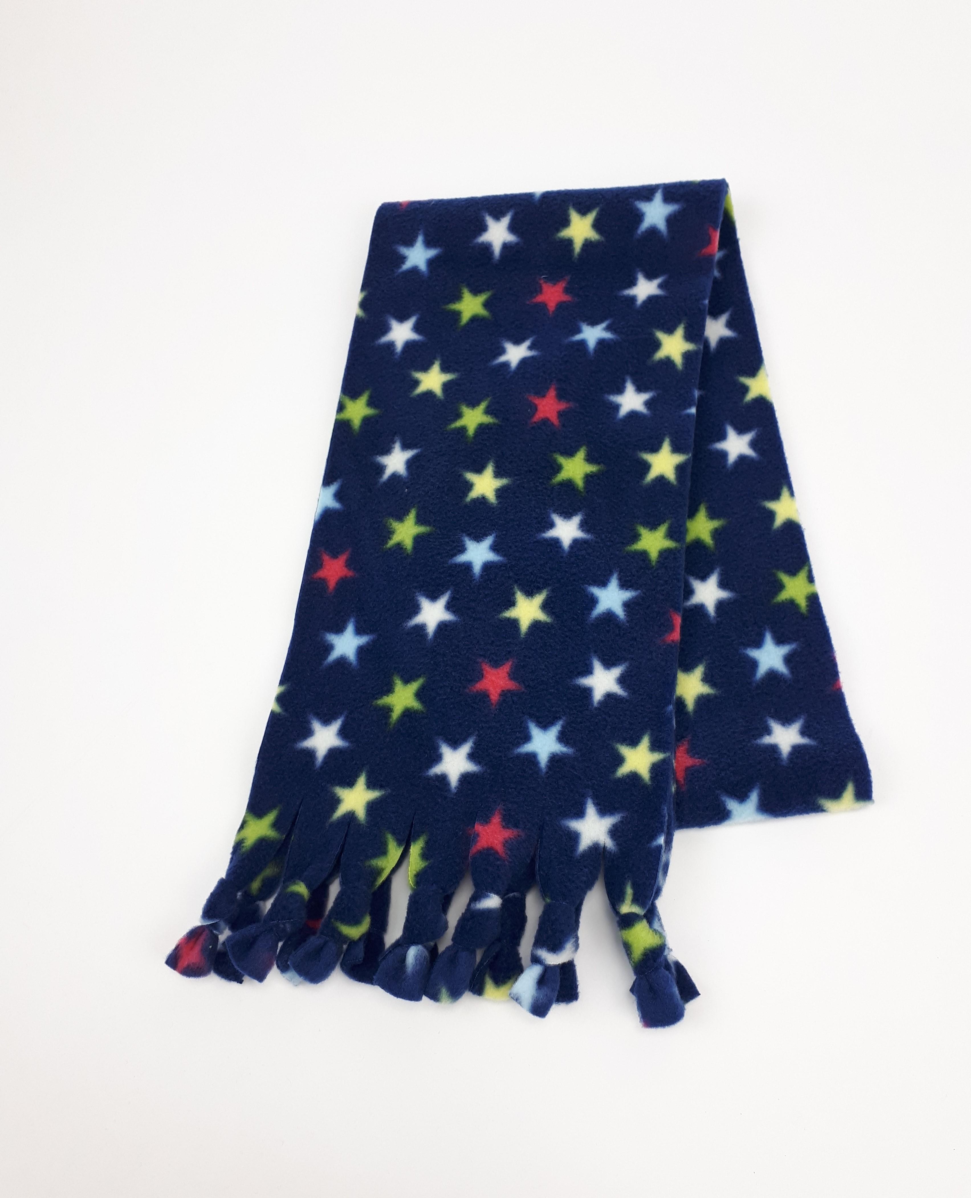 Navy Stars Scarf
