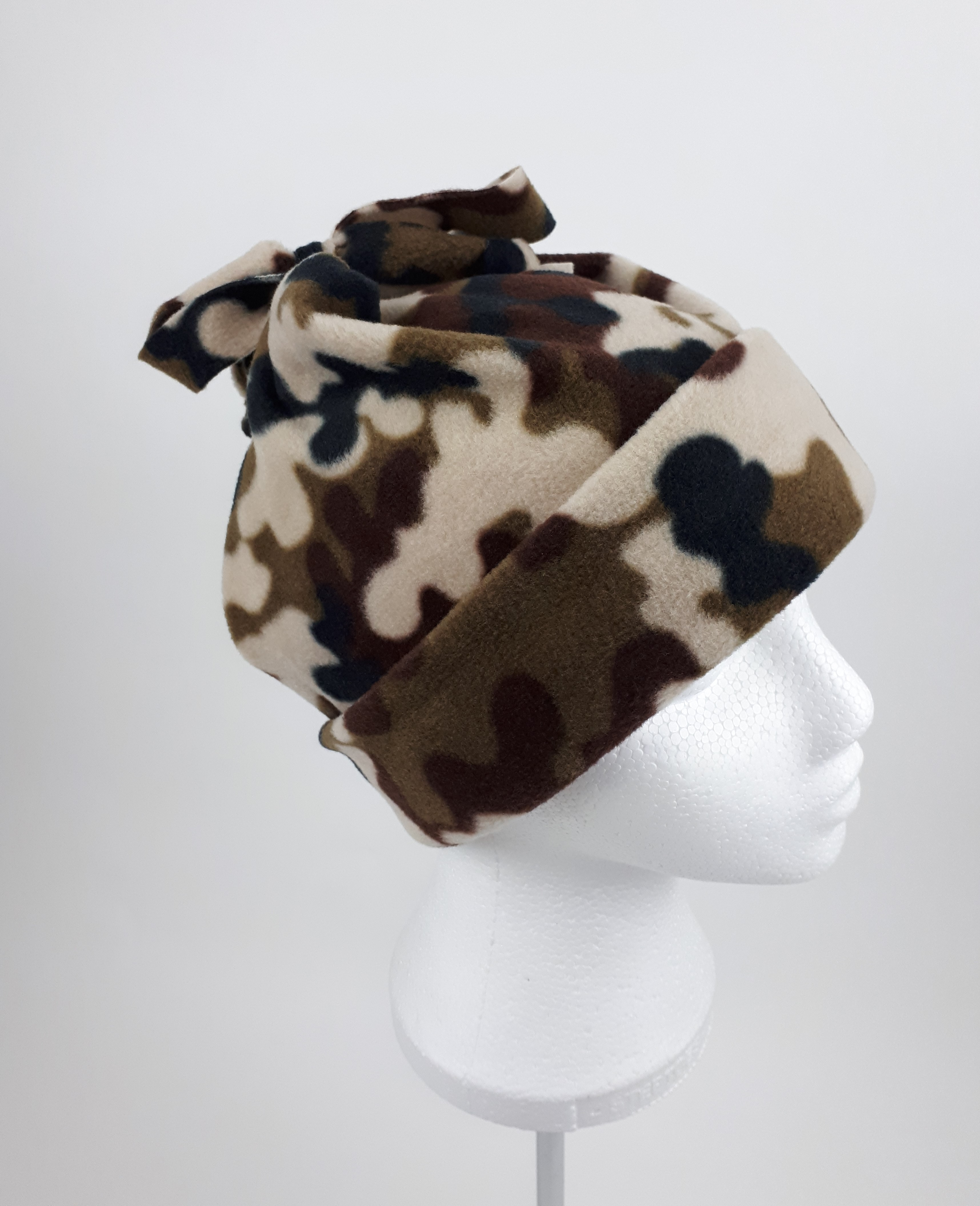 Brown Camo Hat