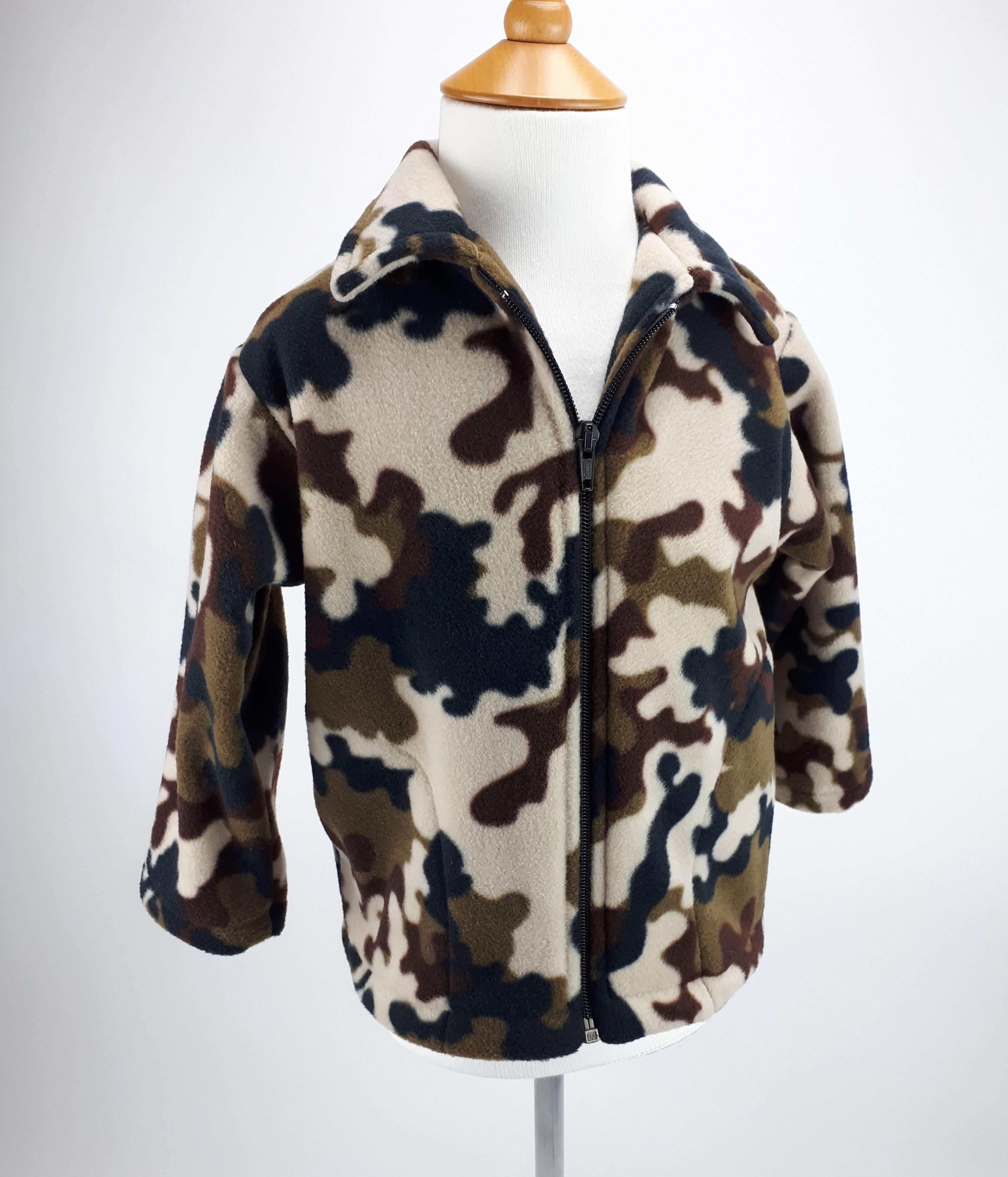 Brown Camo Jacket