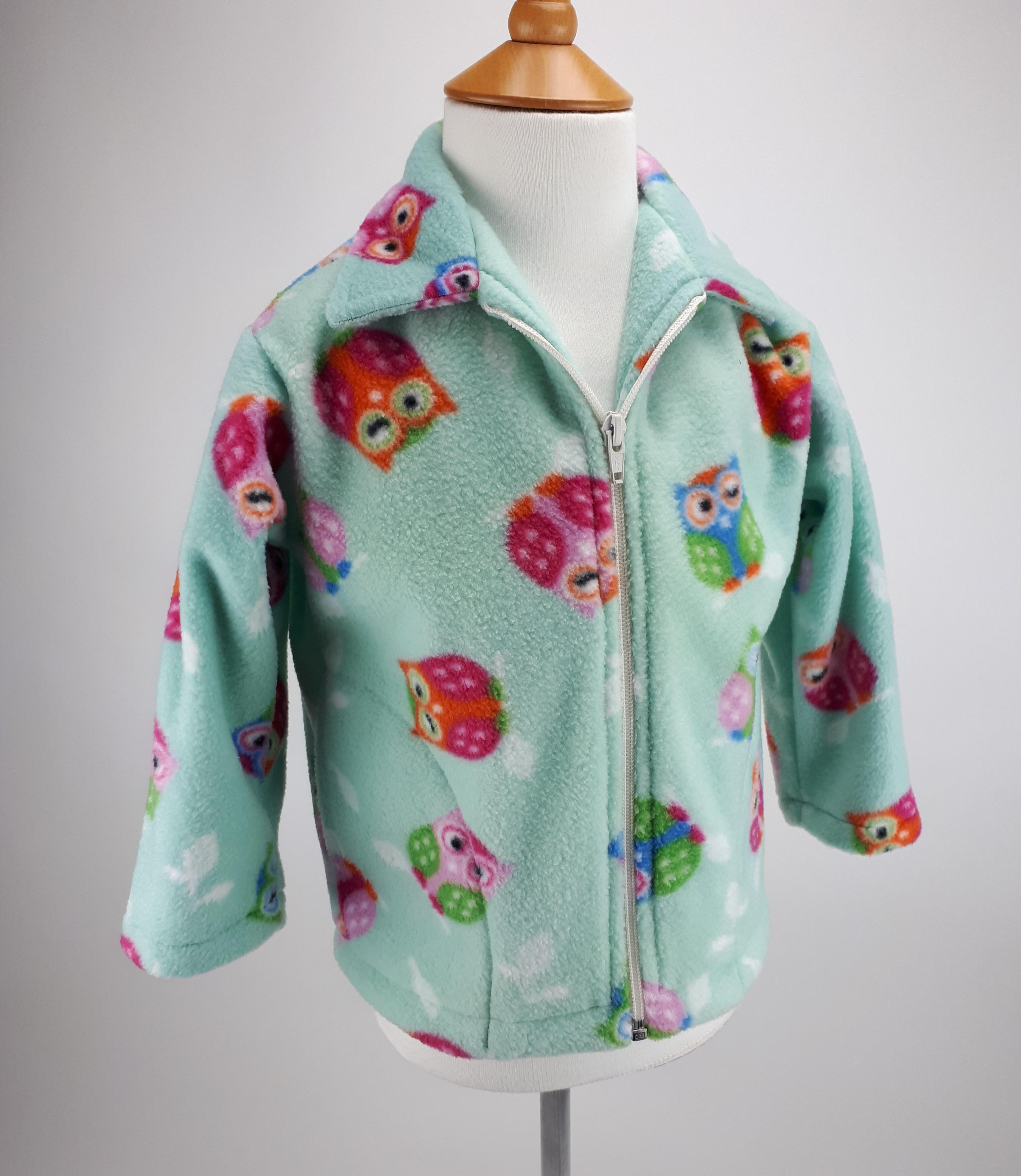 Mint Owl Jacket