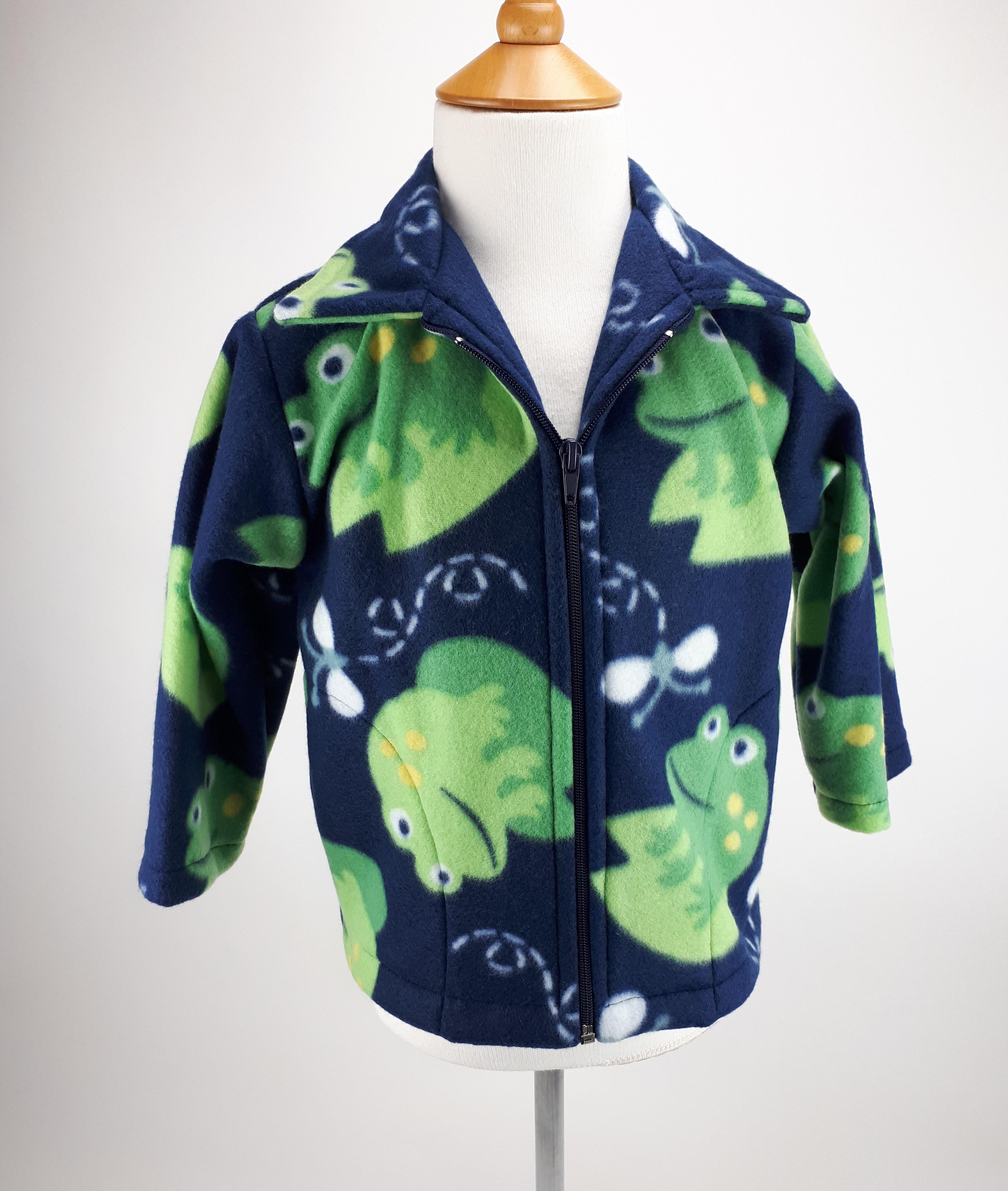 Navy Frog Jacket