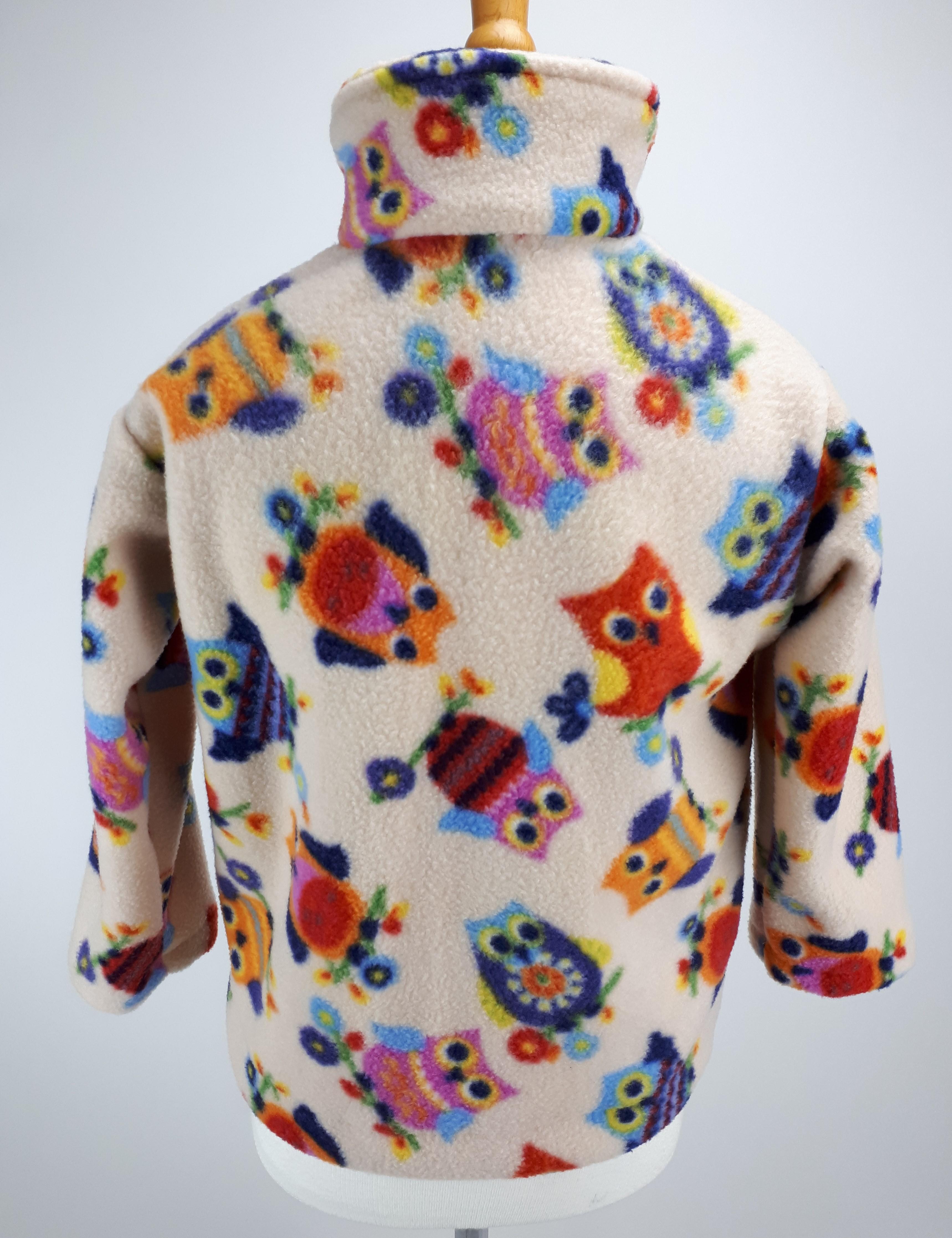 Beige Owl Jacket