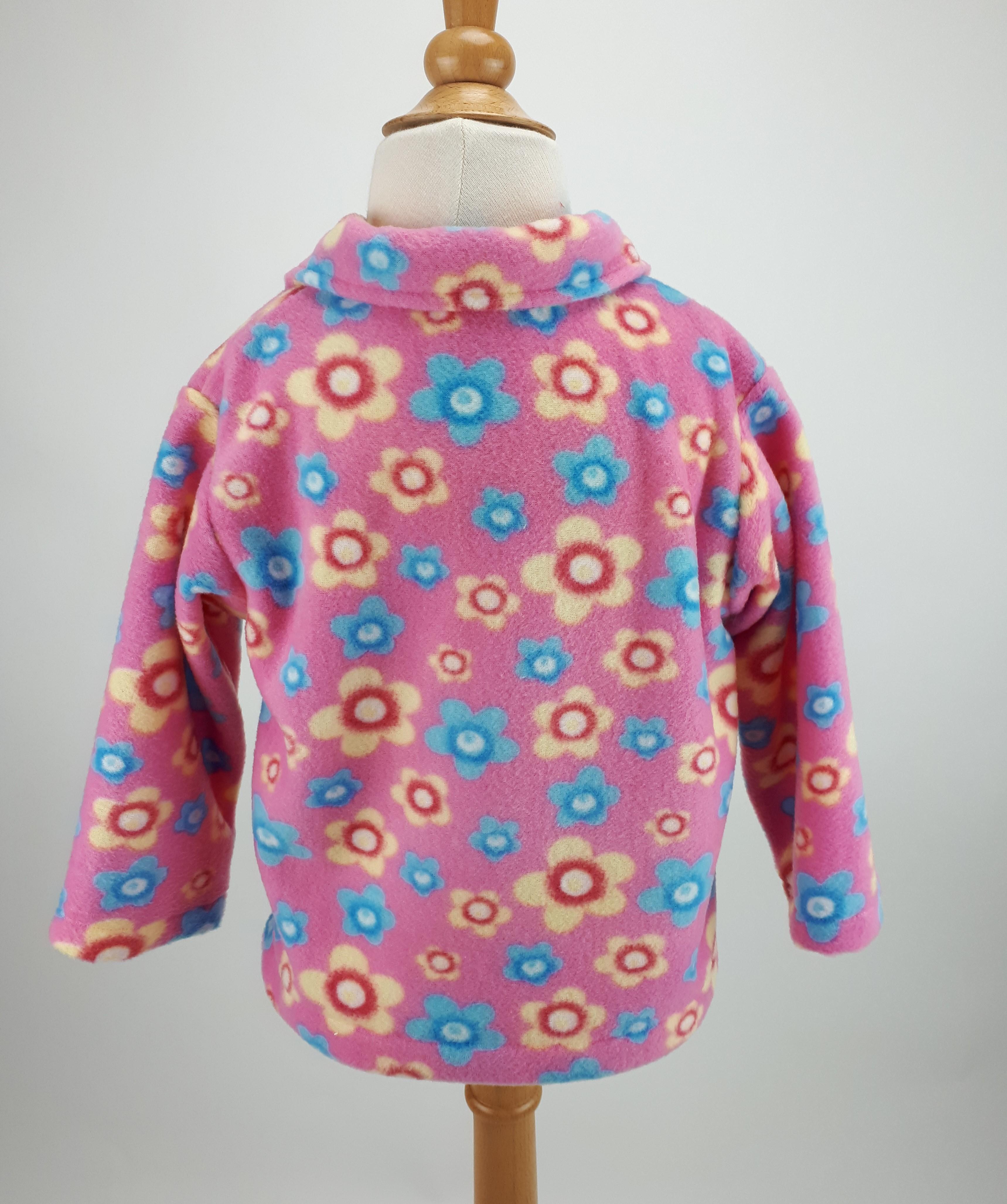 Pink Flowers Jacket