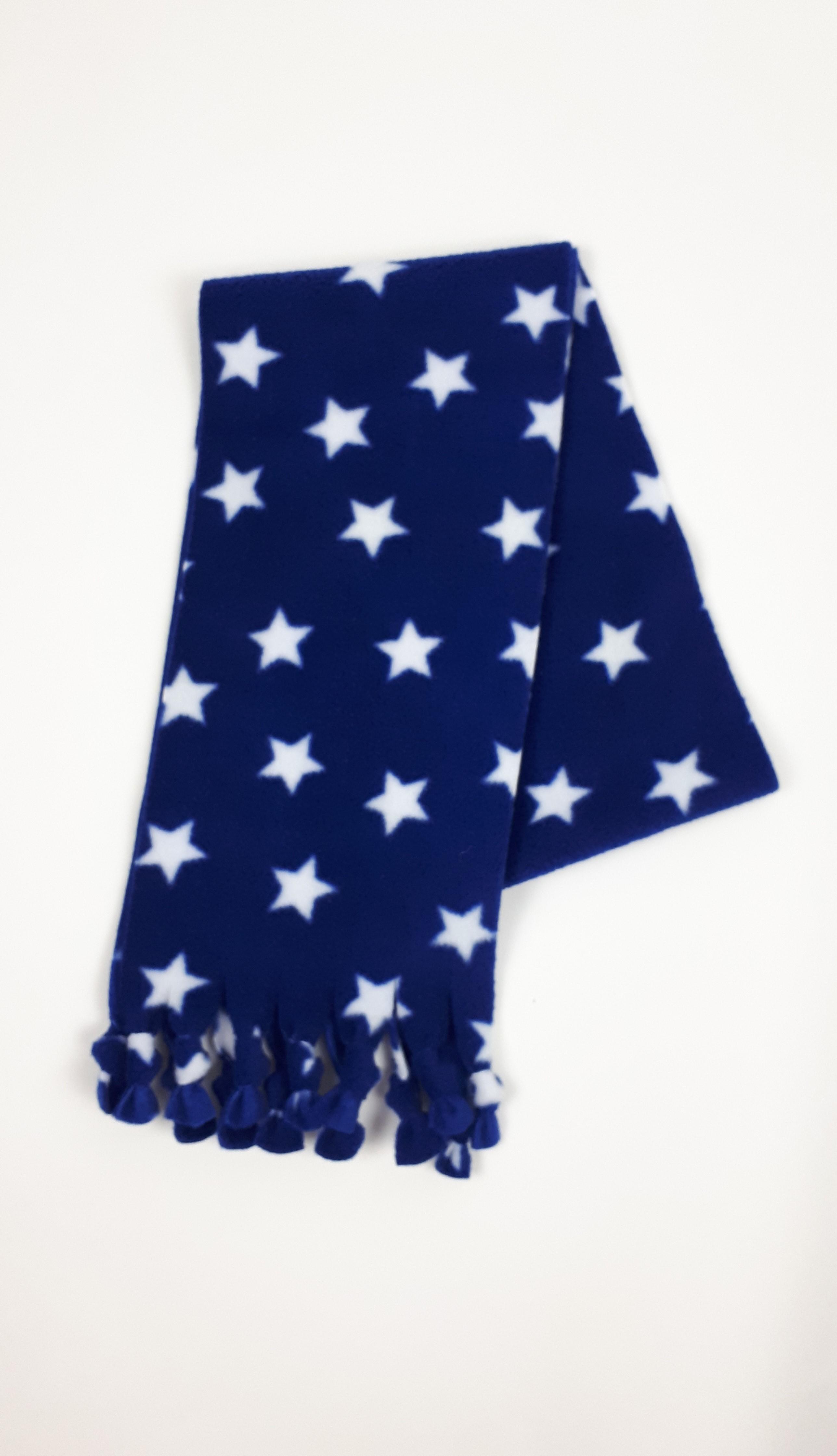 Blue Stars Scarf