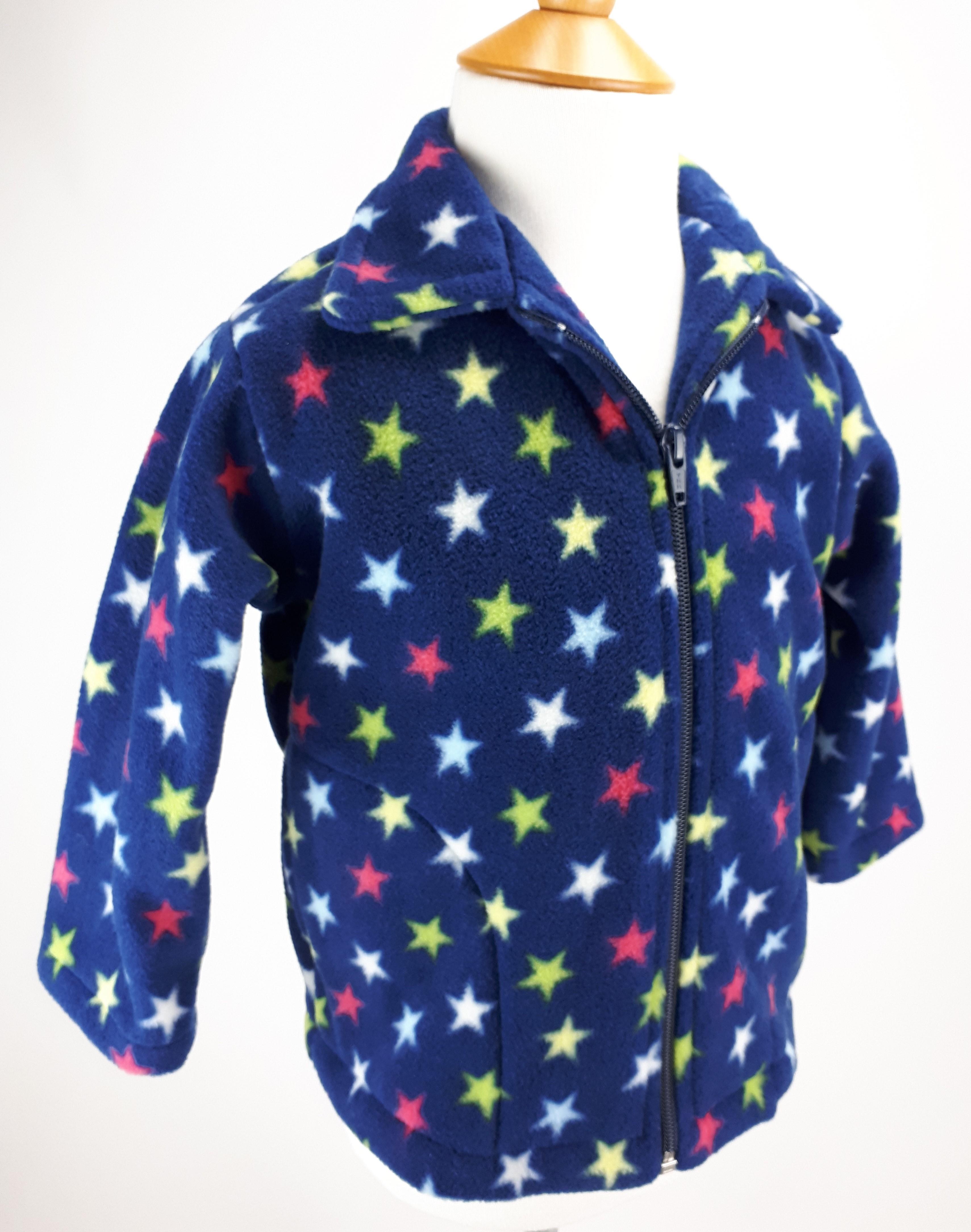 Navy Stars Jacket