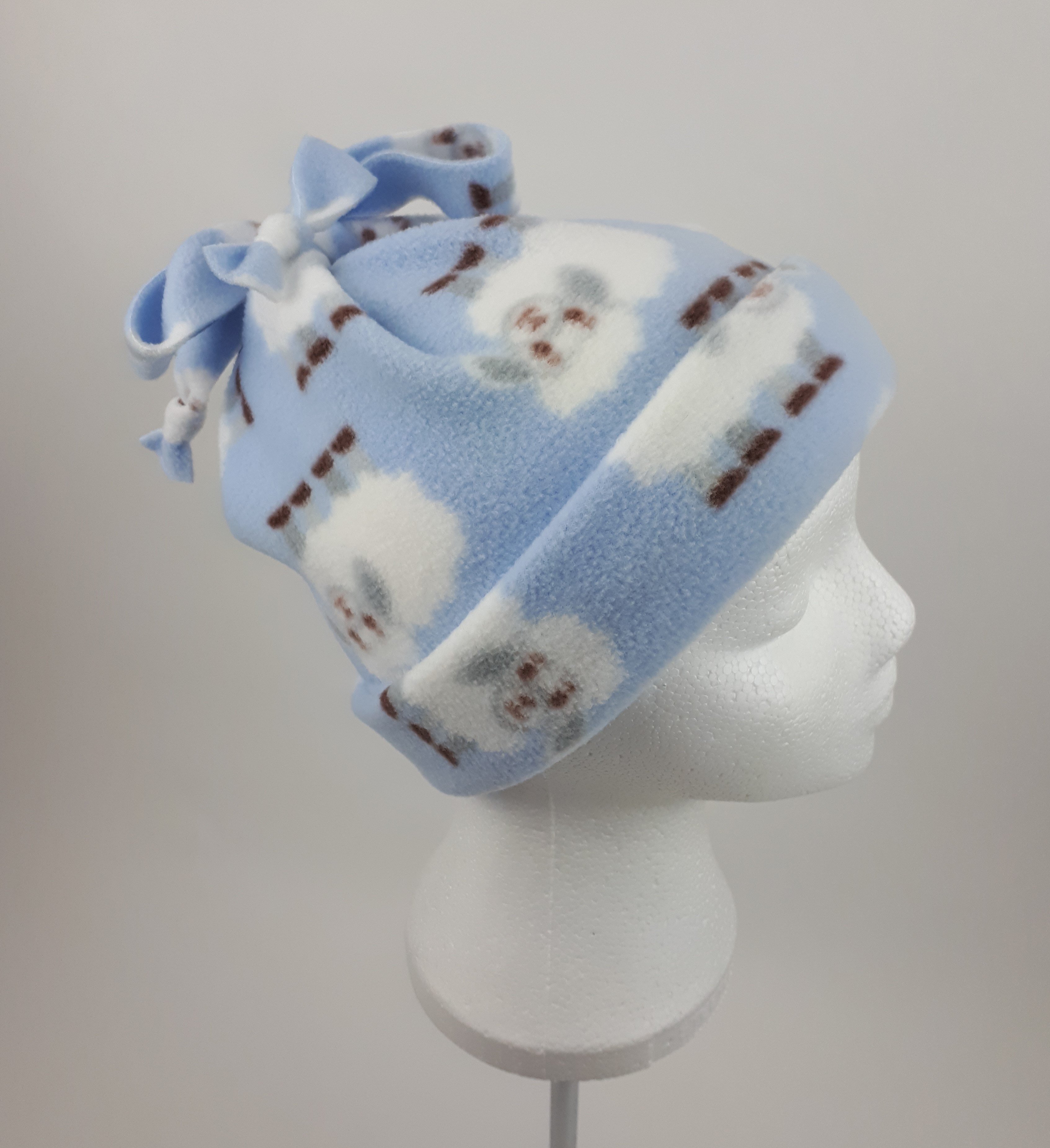 Pale Blue Sheep Hat